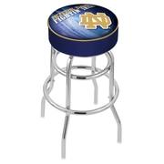 Holland Bar Stool NHL 30'' Swivel Bar Stool; Notre Dame