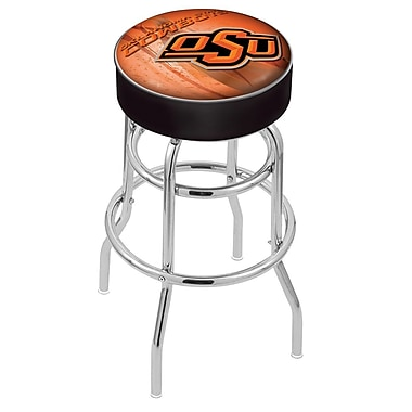 Holland Bar Stool NCAA 25'' Swivel Bar Stool; Oklahoma State