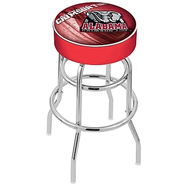 Holland Bar Stool NCAA 25'' Swivel Bar Stool; Alabama - ''Elephant''