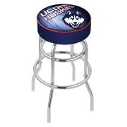 Holland Bar Stool NHL 30'' Swivel Bar Stool; University of Connecticut