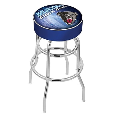 Holland Bar Stool NCAA 25'' Swivel Bar Stool; Maine