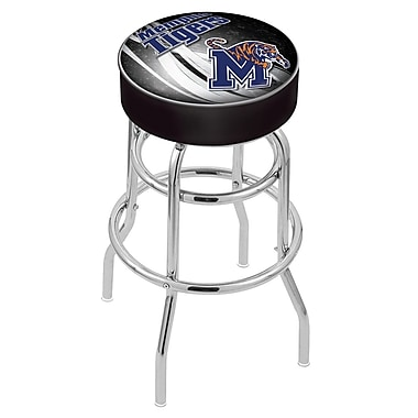Holland Bar Stool NCAA 25'' Swivel Bar Stool; Memphis