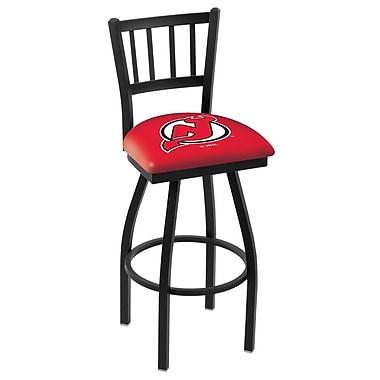 Holland Bar Stool NCAA 39'' Swivel Bar Stool; New Jersey Devils