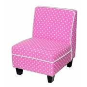 Heritage Kids Kids Polyester Novelty Chair; Pink