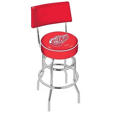 Holland Bar Stool NCAA 30'' Swivel Bar Stool; Detroit Red Wings
