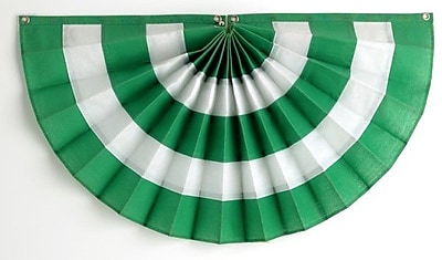 Independence Bunting 5 Stripe Pleated Flag; 36'' H x 72'' W