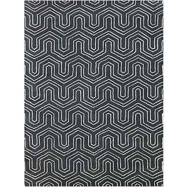 AMER Rugs City Hand-Tufted Gray Area Rug; 8'6'' x 11'6''