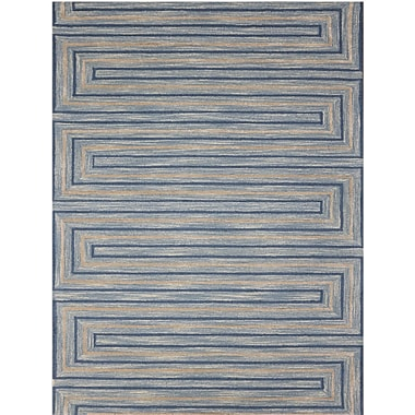AMER Rugs Dwell Hand-Tufted Blue Area Rug; 5' x 8'