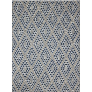 AMER Rugs Dwell Hand-Tufted Gray Area Rug; 7'6'' x 9'6''