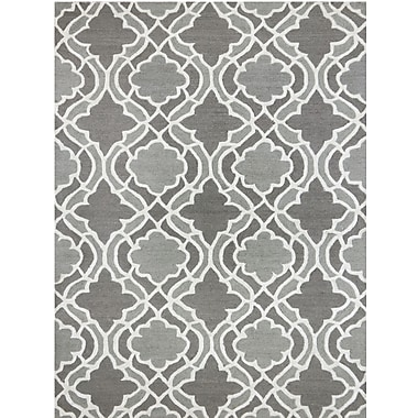 AMER Rugs Glow Hand-Tufted Gray Area Rug; 8' x 11'