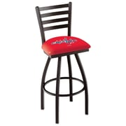 Holland Bar Stool NCAA 39'' Swivel Bar Stool; Washington Capitals