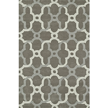 Dalyn Rug Co. Journey Hand-Tufted Pewter Area Rug; 9' x 13'