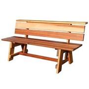 Gronomics Park Bench; 35'' H x 72'' W x 26'' D