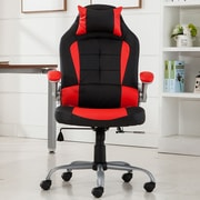 Belleze Racing Reclining Executive Chair; Red