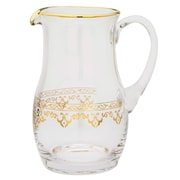 ClassicTouch Glass Pitcher