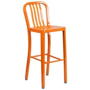 Alston 30.25'' Bar Stool; Orange