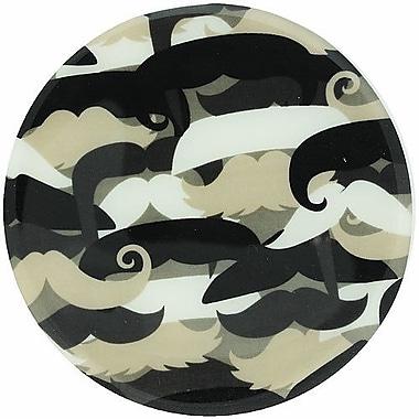 Andreas Silicone Trivets Mustache Trivet; 0.25'' H x 7.625'' W x 7.625'' D