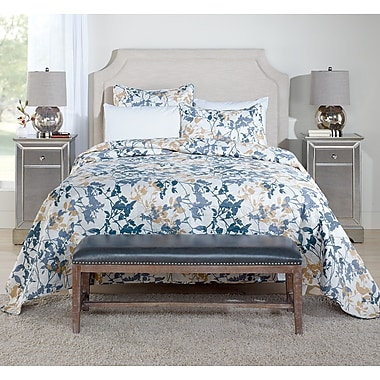Beco Home Leaf Dense 3 Piece King Coverlet Set