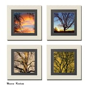 Imagine Letters Inc. 4 Piece ''Touch of Nature'' Picture Frame Set