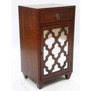 Heather Ann Accent Cabinet; Wood Grain