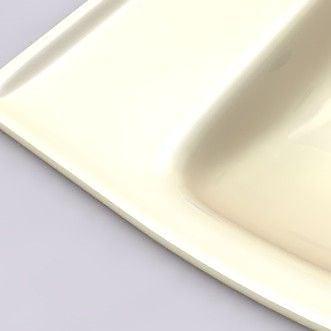 American Standard Champion 1.6 GPF Round Two-Piece Toilet; Bone
