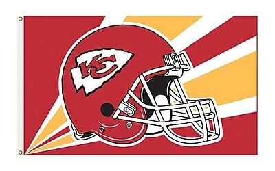NeoPlex NFL Garden Flag; Kansas City Chiefs