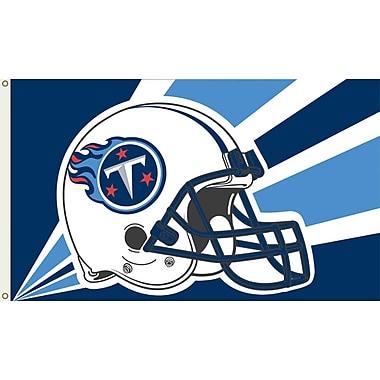 NeoPlex NFL Garden Flag; Titans Helmet