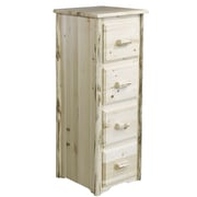 Loon Peak Abordale 4 Drawers File Cabinet; Ready To Finish