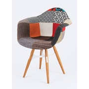 Modern Chairs USA ZigZag Arm Chair