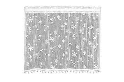 Heritage Lace Wind Chill Tier Curtain; 36'' L x 45'' W