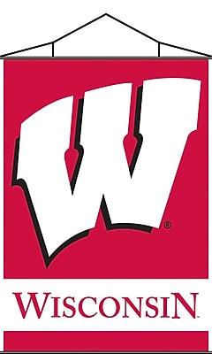 NeoPlex NCAA Scroll Banner; Wisconsin Badgers