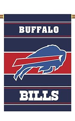 NeoPlex NFL Double Sided Garden Banner; Buffalo Bills