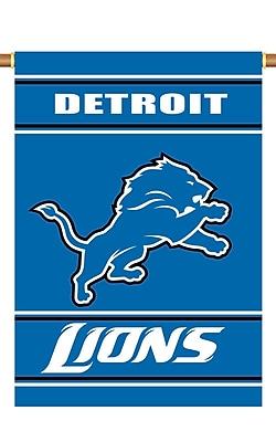 NeoPlex NFL Double Sided Garden Banner; Detroit Lions
