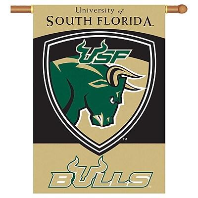 NeoPlex NCAA Double Sided Garden Banner; South Florida Bulls