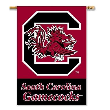 NeoPlex NCAA Double Sided Garden Banner; South Carolina Gamecocks