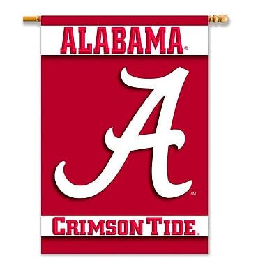 NeoPlex NCAA Double Sided Garden Banner; Alabama Crimson Tide