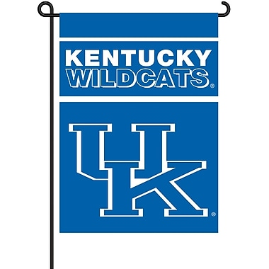 NeoPlex NCAA Double Sided Garden Banner; Kentucky Wildcats