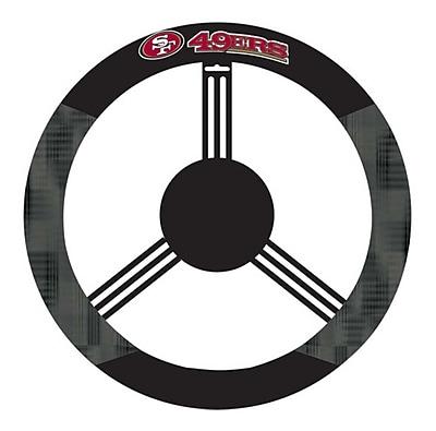 NeoPlex NCAA Steering Wheel Cover; San Francisco