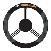 NeoPlex NCAA Steering Wheel Cover; Denver Broncos