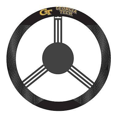 NeoPlex NCAA Steering Wheel Cover; Georgia Tech Yellow Jacket