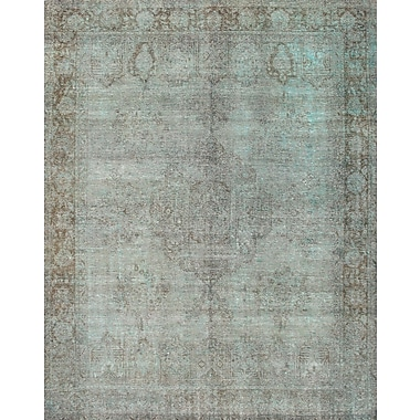 Pasargad Hand-Knotted Blue Area Rug