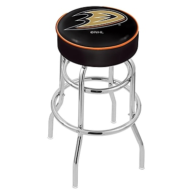 Holland Bar Stool NCAA 25'' Swivel Bar Stool; Anaheim Ducks