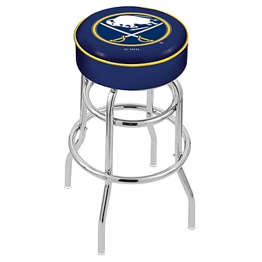 Holland Bar Stool NCAA 25'' Swivel Bar Stool; Buffalo Sabres