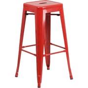 Vogue Furniture Direct 30'' Bar Stool (Set of 2); Red