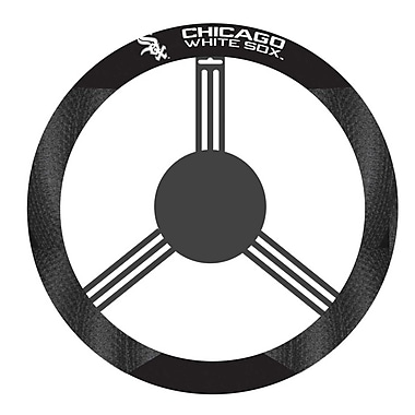 NeoPlex NCAA Steering Wheel Cover; Chicago White Sox