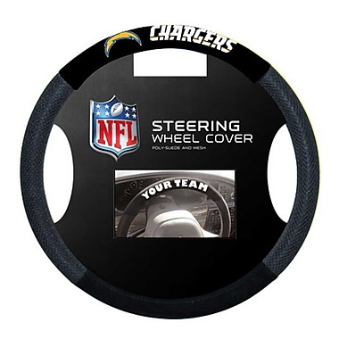 NeoPlex NFL Steering Wheel Cover; San Diego Chargers