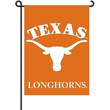 NeoPlex NCAA Double Sided Garden Banner Flag; Texas