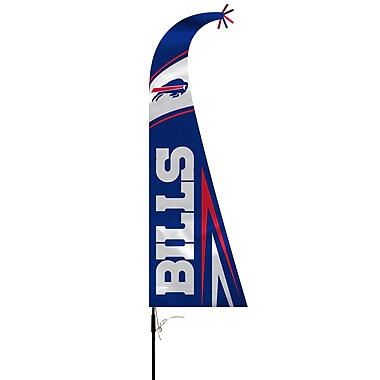 NeoPlex NFL Feather Flag w/ Pole and Spike; Buffalo Bills