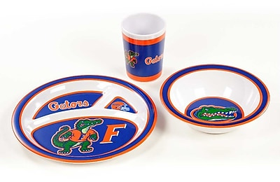 NeoPlex NCAA 3 Piece Melamine Dish Set; Florida Gators WYF078279653669