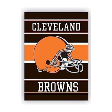 NeoPlex NFL Double Sided House Banner; Cleveland Browns